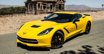 yellow-corvette