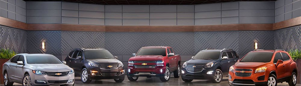 Chevrolet Model Lineup, Lease Your Favorite Vehicle