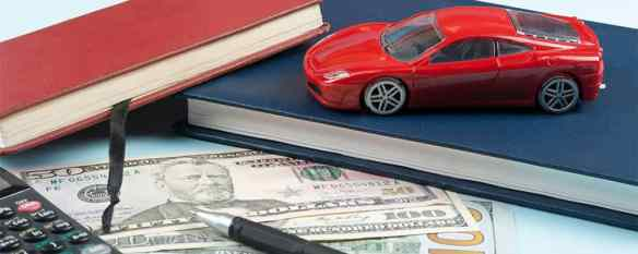 Toy Car with Calculator and Cash Finance