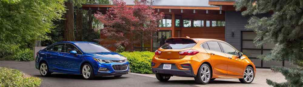 2018 Chevrolet Cruze Hatch and Sedan