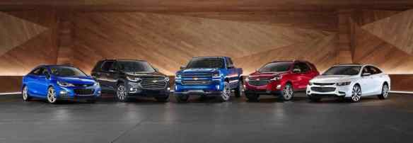 2018 chevrolet model lineup
