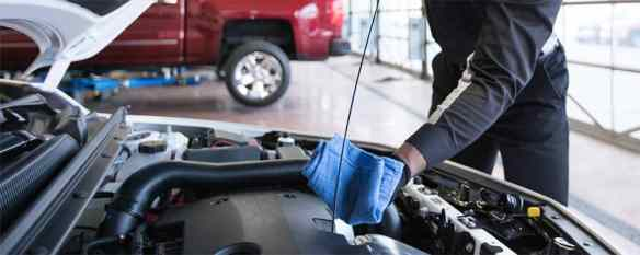 Chevrolet Certified Service and Oil Change